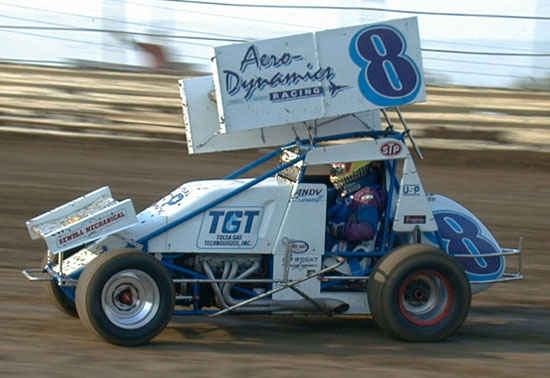 Andy Sewell Champ Sprint Car